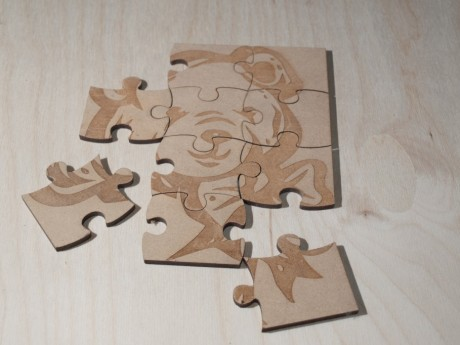 Laser Cutting and Etching on MDF