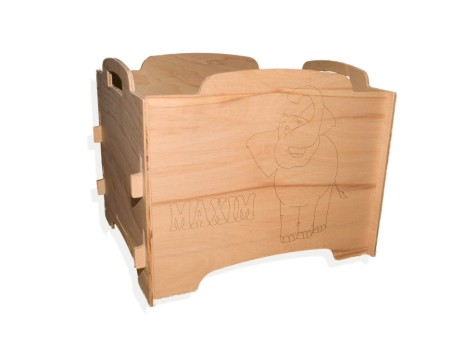 Stackable Storage Box Plywood