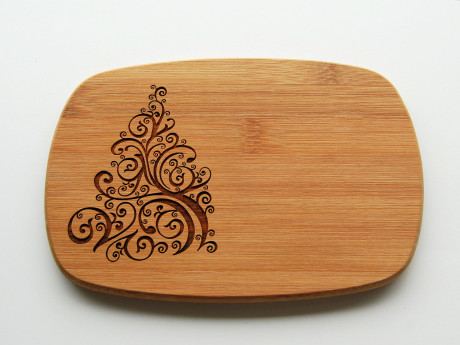 Wooden Serving Board Engraved